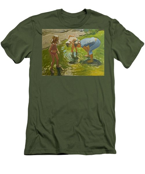Little Fish Men's T-Shirt (Athletic Fit)