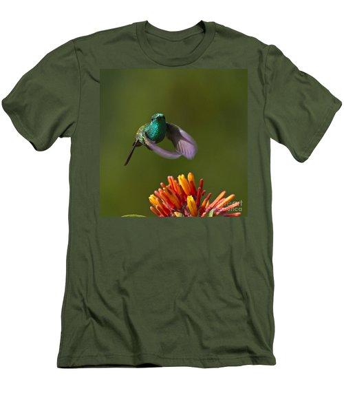 Little Hedgehopper Men's T-Shirt (Slim Fit) by Heiko Koehrer-Wagner
