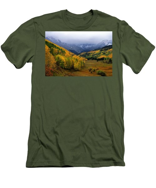 Little Meadow Of The Sublime Men's T-Shirt (Slim Fit) by Eric Glaser