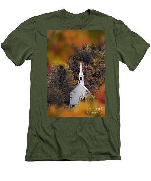 Little White Church - D007297 Men's T-Shirt (Athletic Fit)