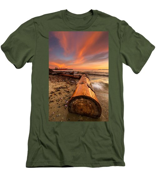 Login To Nature Men's T-Shirt (Athletic Fit)