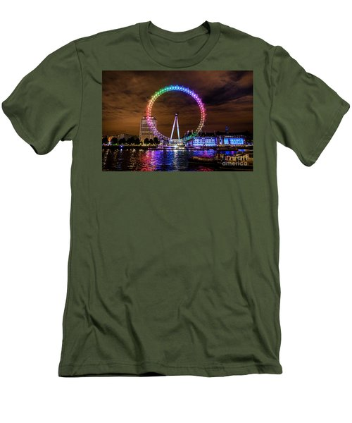 London Eye Pride Men's T-Shirt (Athletic Fit)