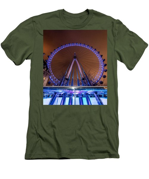 London Eye Supports Men's T-Shirt (Athletic Fit)