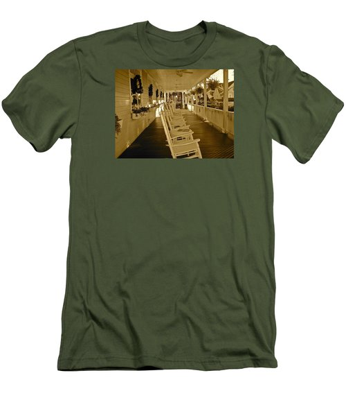 Long Southern Porch Men's T-Shirt (Athletic Fit)