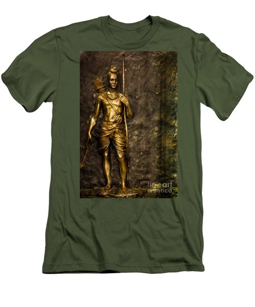 Lord Sri Ram Men's T-Shirt (Athletic Fit)