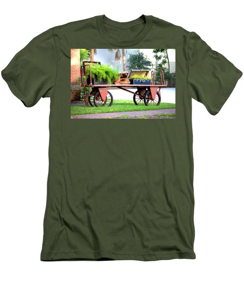 Men's T-Shirt (Slim Fit) featuring the photograph Lost Luggage by Gordon Elwell