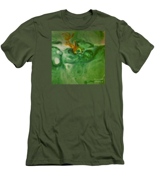 Louie In Shadows Men's T-Shirt (Athletic Fit)
