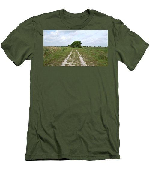 Loxahatchee Wildlife Refuge Men's T-Shirt (Athletic Fit)