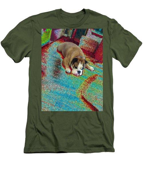Lucius - Lucci  Men's T-Shirt (Athletic Fit)
