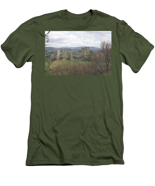 Ludlow Castle Men's T-Shirt (Athletic Fit)