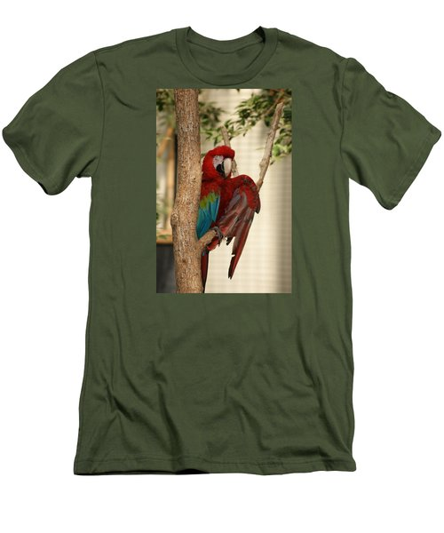 Men's T-Shirt (Slim Fit) featuring the photograph Maccraw  by Heidi Poulin