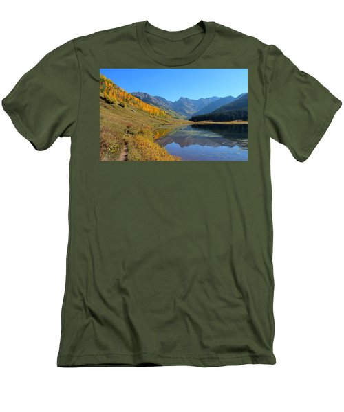 Magical View Men's T-Shirt (Slim Fit) by Fiona Kennard