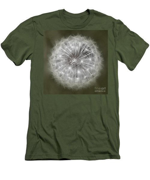 Men's T-Shirt (Slim Fit) featuring the photograph Make A Wish by Peggy Hughes