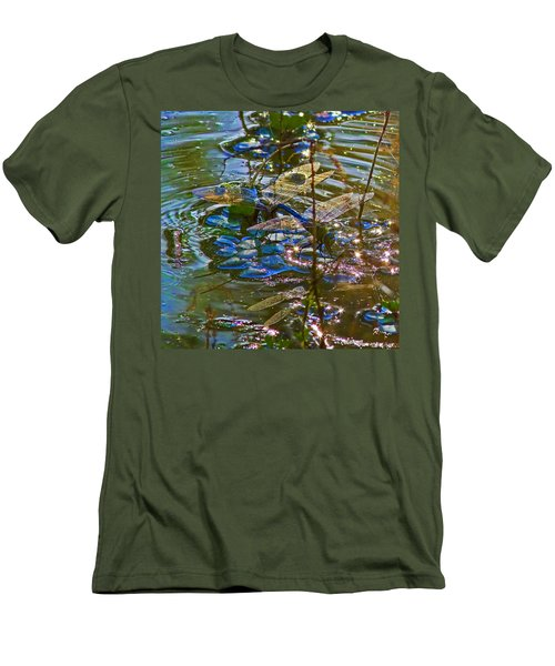 Men's T-Shirt (Slim Fit) featuring the photograph Making A Deposit For The Future by Gary Holmes