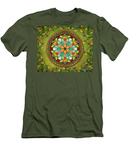 Mandala Evergreen Sp Men's T-Shirt (Athletic Fit)