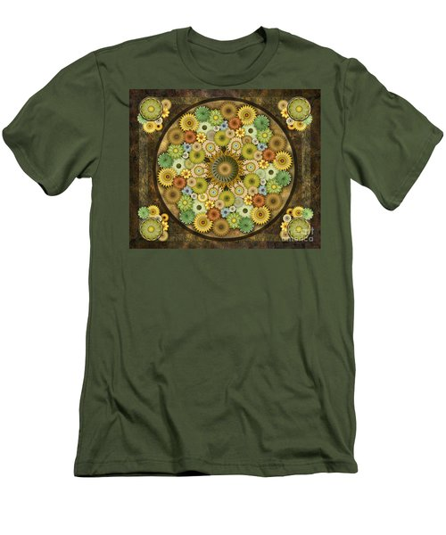 Mandala Stone Flowers Sp Men's T-Shirt (Athletic Fit)