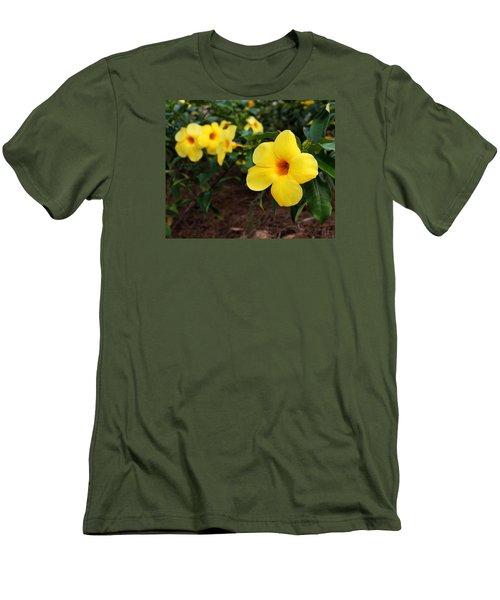 Mandevilla Men's T-Shirt (Slim Fit) by Judy Vincent