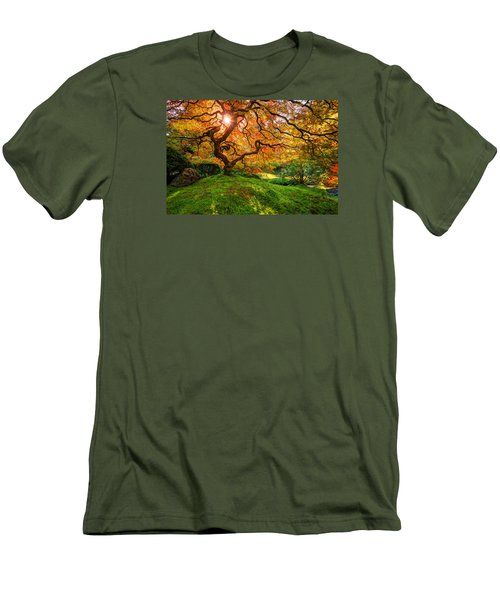 Maple  Men's T-Shirt (Athletic Fit)