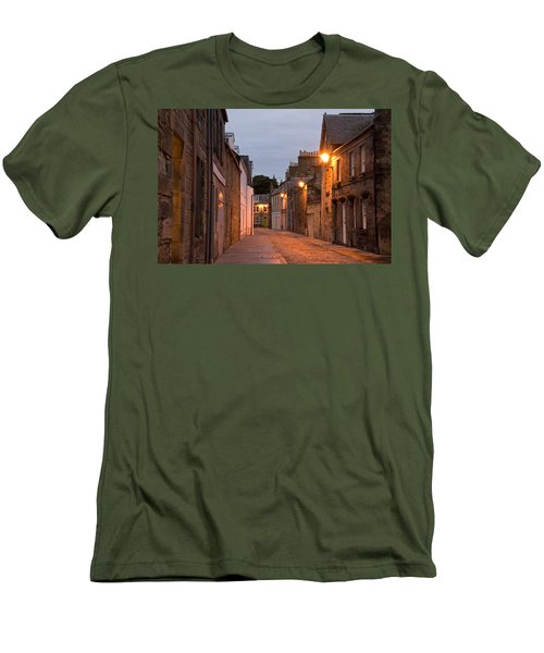 Men's T-Shirt (Slim Fit) featuring the photograph Market Street At Dusk by Jeremy Voisey