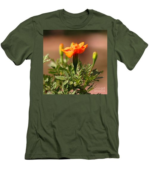 Men's T-Shirt (Slim Fit) featuring the photograph Mary Reaches For The Sun by Joseph J Stevens