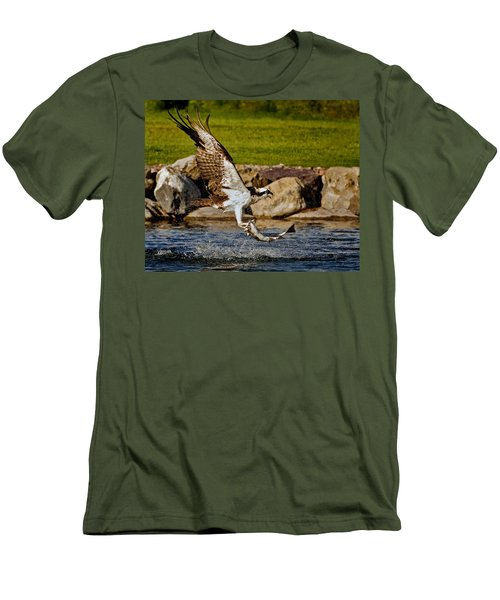 Master Fisherman Men's T-Shirt (Slim Fit) by Jack Bell