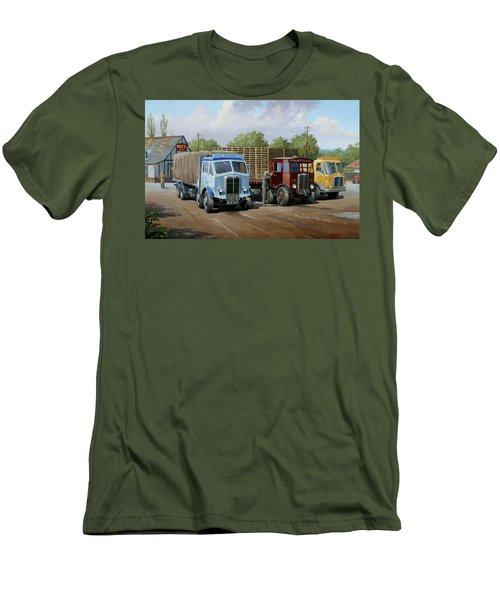 Max's Transport Cafe Men's T-Shirt (Athletic Fit)