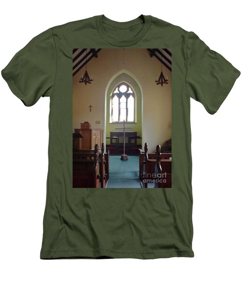 May Hill Church Men's T-Shirt (Slim Fit) by John Williams