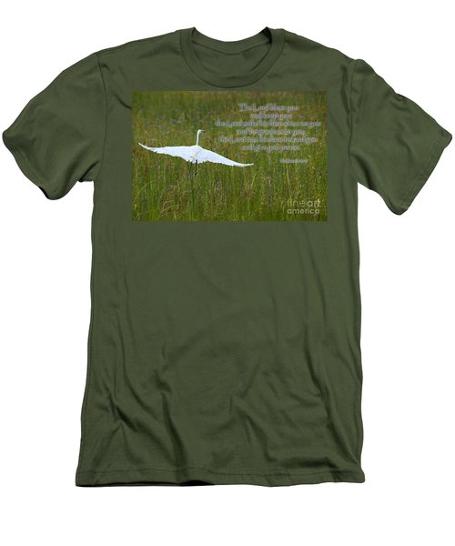 May The Lord Bless You Men's T-Shirt (Athletic Fit)