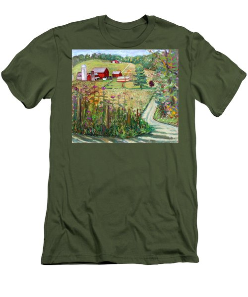 Meadow Farm Men's T-Shirt (Athletic Fit)