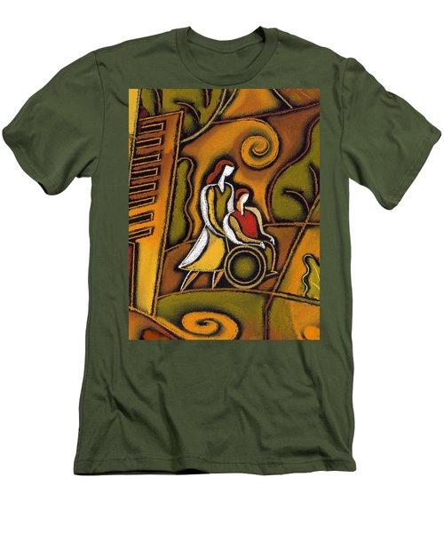 Medicare Men's T-Shirt (Slim Fit) by Leon Zernitsky