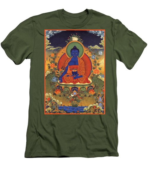 Medicine Buddha 8 Men's T-Shirt (Athletic Fit)