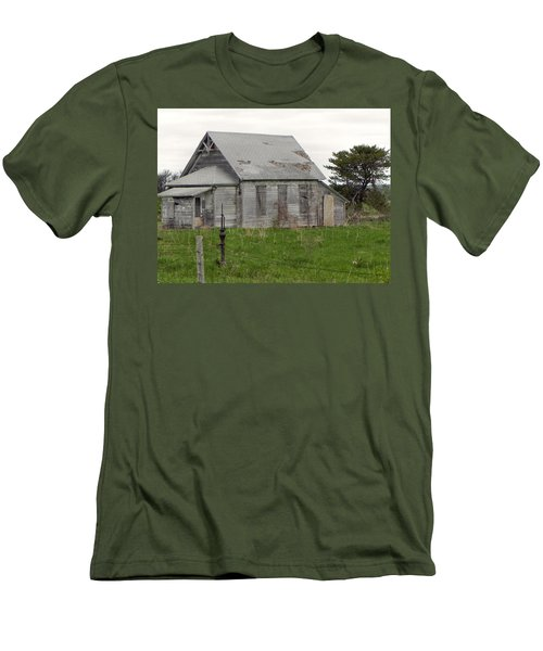 Men's T-Shirt (Slim Fit) featuring the photograph Memories by Deb Halloran