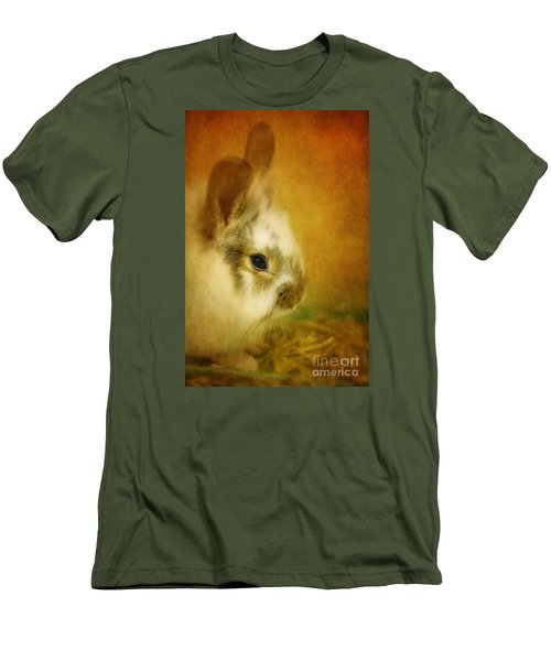Memories Of Watership Down Men's T-Shirt (Slim Fit) by Lois Bryan