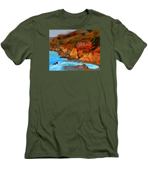 Mendocino Coast Men's T-Shirt (Athletic Fit)