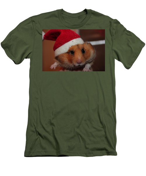 Merry Chirstmas Men's T-Shirt (Athletic Fit)