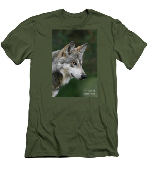 Mexican Wolf #5 Men's T-Shirt (Slim Fit)