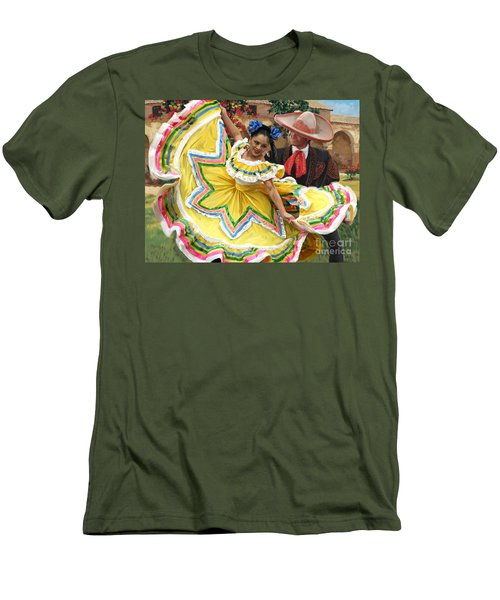Mexicanhatdance Men's T-Shirt (Slim Fit)