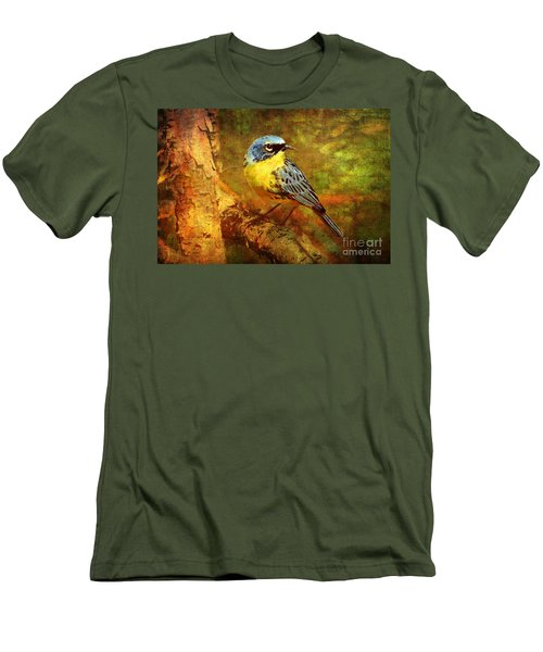 Michigans Rare Kirtlands Warbler Men's T-Shirt (Athletic Fit)