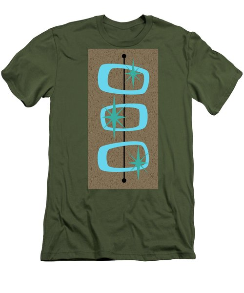Mid Century Modern Shapes 1 Men's T-Shirt (Athletic Fit)