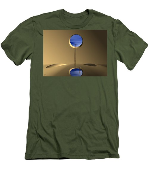 Mind Well Men's T-Shirt (Slim Fit) by John Alexander