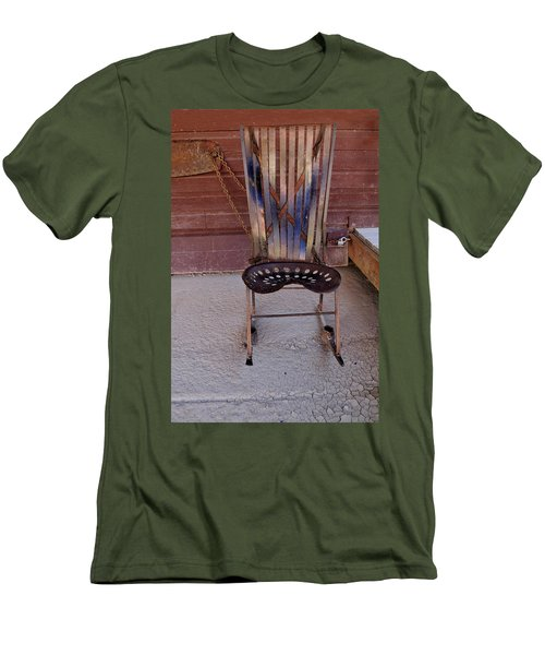 Men's T-Shirt (Slim Fit) featuring the photograph Miner's Rocker by Fran Riley