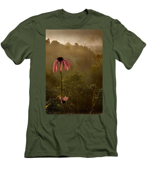 Mist On The Glade Men's T-Shirt (Athletic Fit)