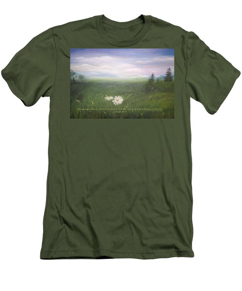 Misty Meadow Isaiah  Men's T-Shirt (Athletic Fit)