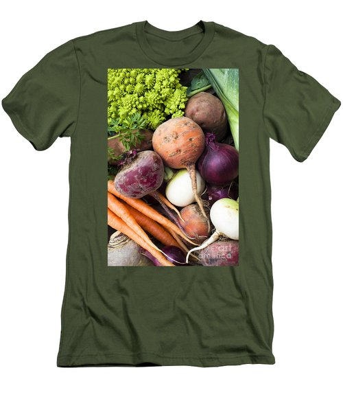 Mixed Veg Men's T-Shirt (Athletic Fit)