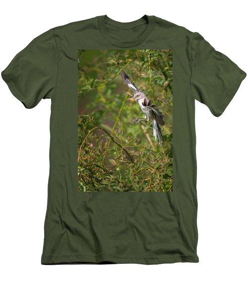 Mockingbird Men's T-Shirt (Slim Fit) by Bill Wakeley