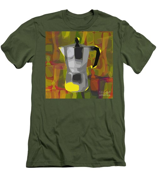 Moka Pot Men's T-Shirt (Slim Fit) by Jean luc Comperat