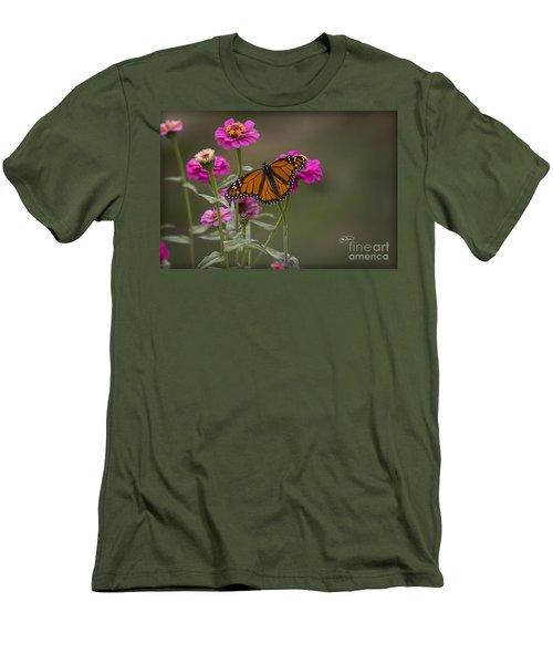 Monarch Pit Stop Men's T-Shirt (Athletic Fit)