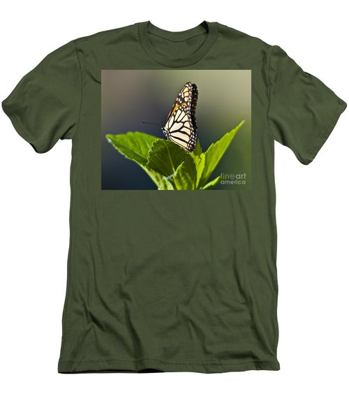 Monark Butterfly No. 2 Men's T-Shirt (Athletic Fit)