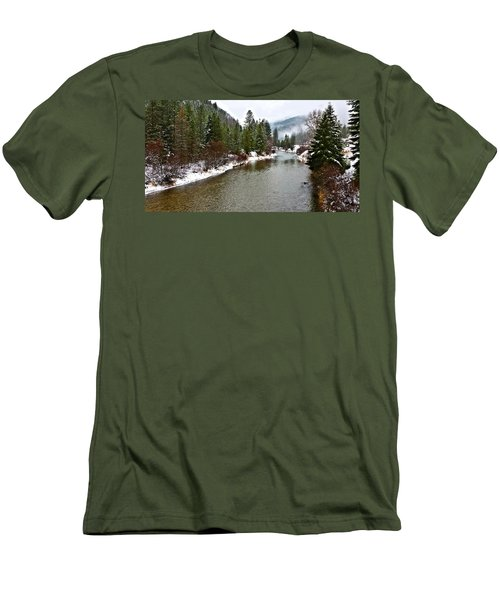 Montana Winter Men's T-Shirt (Slim Fit)