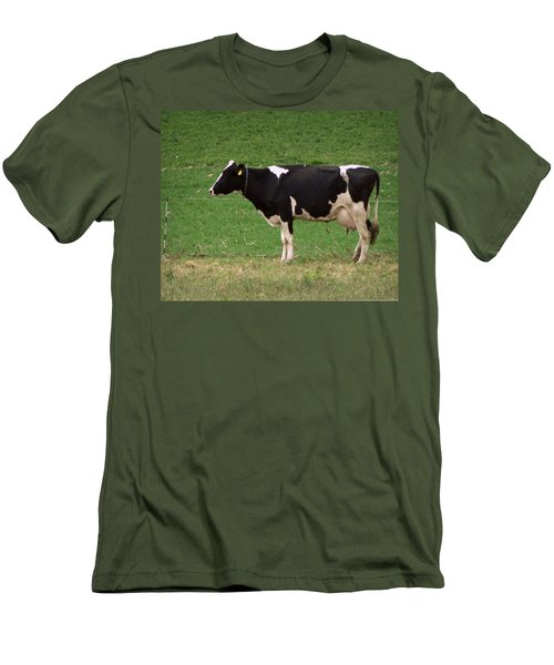 Men's T-Shirt (Slim Fit) featuring the photograph Moo by Joseph Skompski